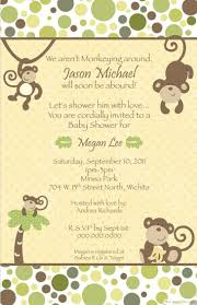 free printable invitations free printable monkey baby shower invitations theruntime com