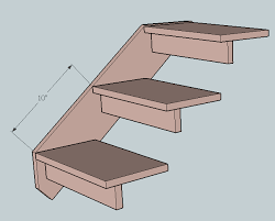 Dog Stairs For Beds Pet Steps For Under Bed Do It Yourself Furniture