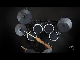 black friday electronic drum set behringer xd80usb 8 piece high performance electronic drum set