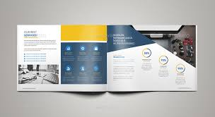 landscape brochure landscape brochure design corporate business