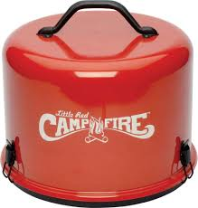 little red portable campfire camco 58031 campfire u0026 outdoor