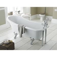 Bathroom Sink Legs Premier White Kensington 1700 Single Ended Freestanding Bath With