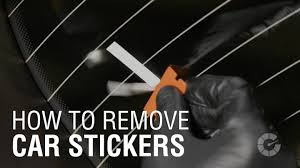how to remove car stickers autoblog details autoblog