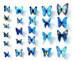 butterfly wall decor decorations unique design 3d diy stewroush site