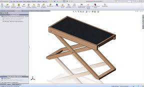 designing a standing desk with solidworks mysolidworks