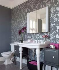 wallpaper designs for bathroom gray bathroom wallpaper 974a47ad485fa9d2d6a7e017c2a3d2f2 grey