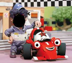 roary racing car faceinhole