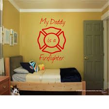 Firefighter Home Decorations Firefighter Room Decorations Daddy Is A Firefighter Home Decor