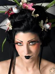 easy makeup ideas to create that perfect geisha look easy makeup