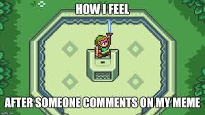 Zelda Memes - had to drop a sweet link imgflip