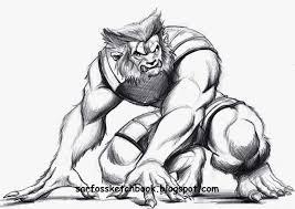 men beast coloring pages draw gekimoe u2022 60636