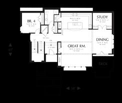 main floor plan of mascord plan 2389 the raymond ideal plan