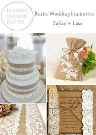 burlap wedding decorations rustic burlap lace wedding decorations and inspiration