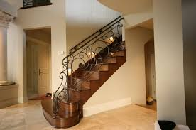 Fer Forge Stairs Design Wrought Iron Railing With Bars Indoor For Stairs Monarch