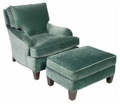 Club Chairs With Ottoman Awesome Sold Out Teal Velvet Club Chair And Ottoman 3020