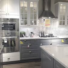 grey and white kitchen ideas ikea cabinets kitchen kitchen design