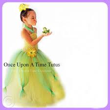 frog princess tutu dress birthday halloween costume