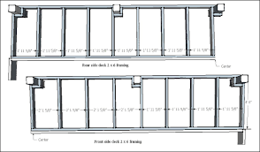 deck roof framing plans deck design and ideas