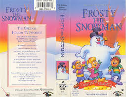 frosty snowman vhscollector analog videotape archive