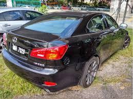 fuel consumption lexus is250 lexus is250 2008 2 5 in kuala lumpur automatic sedan black for rm