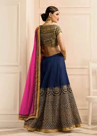 engagement lengha 2016 indian rajasthani ghagra buy online blue