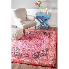 Pink 8x10 Rug Best 25 Pink Rug Ideas Only On Pinterest Aztec Rug Colorful