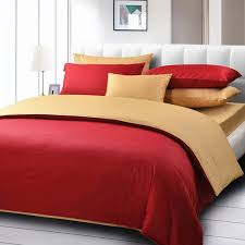 20 red bed linens for your bedrooms home design lover