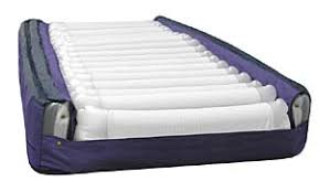 alternating pressure air mattress with gentle low air loss power