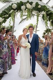 caribbean wedding attire fashionista helena bordon holds third wedding in st