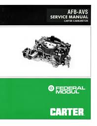 carter afb avs service manual