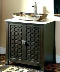 bathroom vanity with bowl sink vessel single sink bathroom vanity