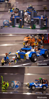 lego jurassic world jeep lego u0027jurassic world u0027 makes official debut lego park and legos