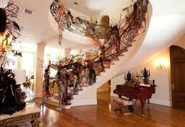decorate house decorating amazing creative halloween decorating ideas for inside