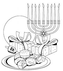 awesome in addition to beautiful hanukkah coloring pages printable