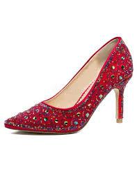 wedding shoes kg wedding shoes high heel rhinestones pointed toe bridal