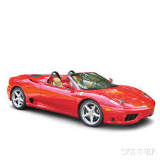 ferrari coupe convertible 2002 ferrari 360 spider convertible sale number 2830b lot