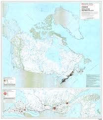 Canada Population Density Map by Canadian Population Density Dispersal Archive Skyscraperpage Forum
