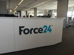 Reception Desk Signs Reception Desk Sign With External Monolith Force24