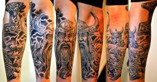 viking sleeve healed horror design designs and ideas