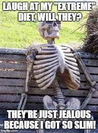 Extreme Memes - waiting skeleton meme imgflip