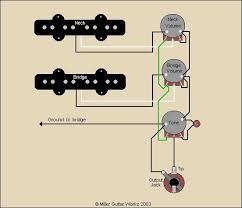 miller guitar standard j bass wiring diagram