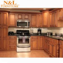 solid wood kitchen cabinets from china n l factory wholesale cheap solid wood kitchen