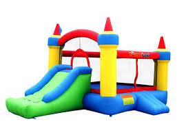 bounceland mega castle bounce house u0026 reviews wayfair