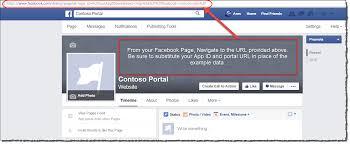 Help Desk Portal Examples Facebook App Page Tab Authentication Adxstudio Community
