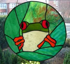 frog free sle from stained glass patterns by jillian sawyer