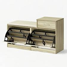 scarpiera ingresso sobuy皰 scarpiera da ingresso panchina con cuscino e cassetto