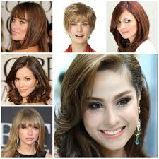 pear shaped face hairstyles five gigantic influences of oval face shape hairstyles oval face