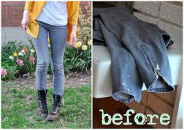 gray to white u2013 bleaching jeans