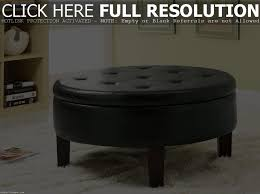 coffee table coffee table astounding round fabric ottoman with