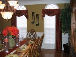 dining room curtains ideas hanging lamps ceiling light vertical